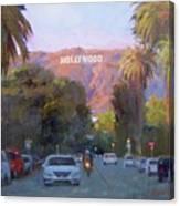 Hollywood Sunset Canvas Print
