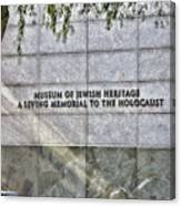 Holocaust Museum Of Jewish Heritage Ny Canvas Print