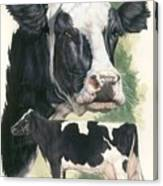 Holstein Canvas Print