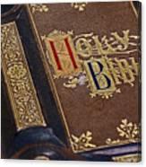 Holy Bible Canvas Print