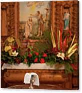 Holy Communion Canvas Print
