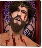 Holy Face Of Ecce Homo Canvas Print