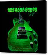 Holy Grail 1959 Retro Relic Guitar Canvas Print
