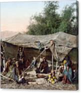 Holy Land: Bedouin Camp Canvas Print
