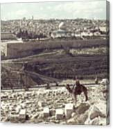 Holy Land: Jerusalem Canvas Print