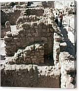 Holy Land: Qumran Ruins Canvas Print