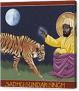 Holy Sadhu Sundar Singh 189 Canvas Print