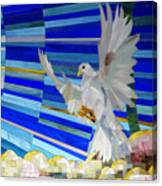 Holy Spirit Dove Canvas Print