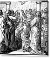 Holy Spirit Visiting Canvas Print