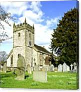 Holy Trinity Church - Ashford-in-the-water Canvas Print