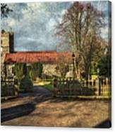 Holy Trinity Church Cookham Canvas Print