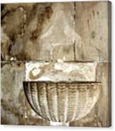Holy Water Canvas Print