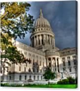 Homage 2 To Wisconsin State Employees Canvas Print