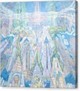 Homage To New York And The Chrysler Building Canvas Print