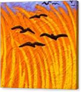 Homage To Vincent Van Gogh Canvas Print