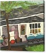 Home In Feeding Hills Mass Part 1 Canvas Print