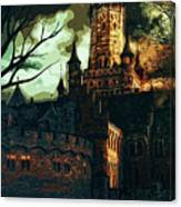 Home Of Darkness Canvas Print