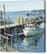 Home Of Her Berth Canvas Print