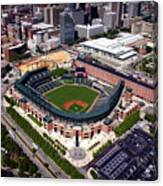 Home Of The Orioles - Camden Yards Canvas Print