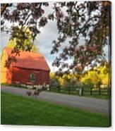 Home On The Farm Canvas Print