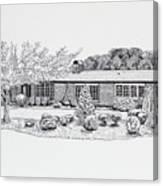 Home Portrait 2040 Canvas Print