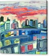 Home To The Softer Side Of City Canvas Print