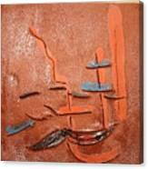 Homegal - Tile Canvas Print