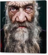 Homeless Veteran Canvas Print