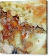 Homemade Lasagna Canvas Print
