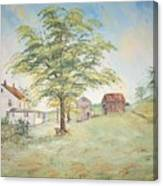 Homeplace - The Farmhouse Canvas Print