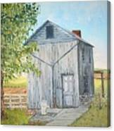 Homeplace - The Washhouse Canvas Print