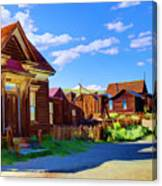 Homes Of The Past Canvas Print