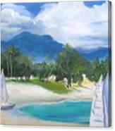 Homesick For Hawaii Canvas Print