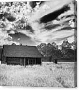 Homestead Mormon Row Canvas Print