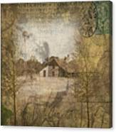 Homestead Of Old Canvas Print