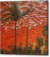 Homestead Sunset Canvas Print