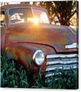 Homestead Truck Canvas Print
