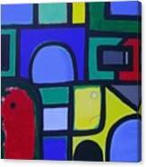 Hommage a Mark Rothko Canvas Print