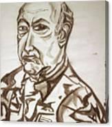 Homme Militaire Canvas Print