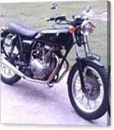 Honda Cb360t 1976 Canvas Print