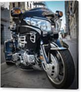 Honda Motorbike Canvas Print