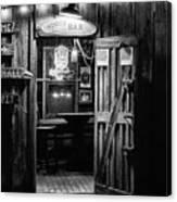 Hondos Bar In Luckenbach Texas Canvas Print