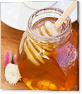 Honey Jar Canvas Print