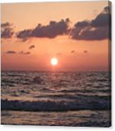 Honey Moon Island Sunset Canvas Print