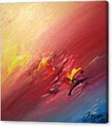 Honeymoon Bliss - A Canvas Print