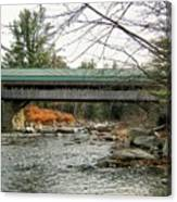 Honeymoon Covered Bridge Canvas Print