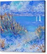 Honeymoon Island Canvas Print