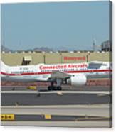 Honeywell Boeing 757-225 N757hw Phoenix Sky Harbor September 30 2017 Canvas Print