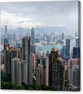 Hong Kong After Rain Canvas Print