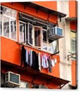 Hong Kong Apartment 12 Canvas Print